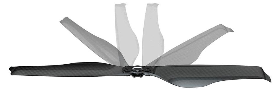 folding carbon drone propeller