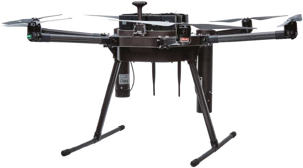 if1000 heavy lift hexacopter