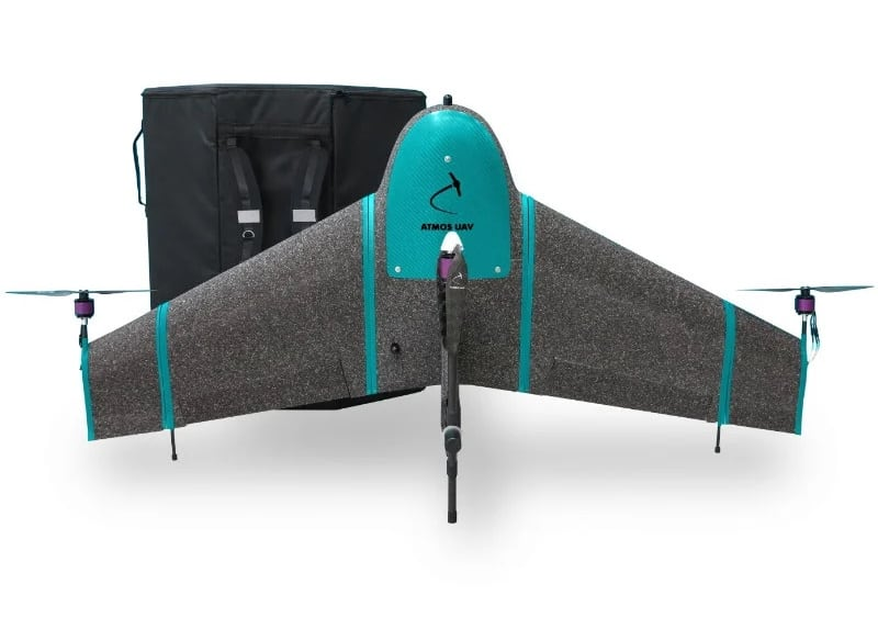 Millimeter-Level Accuracy for ATMOS Hybrid VTOL UAV   Unmanned Systems Technology