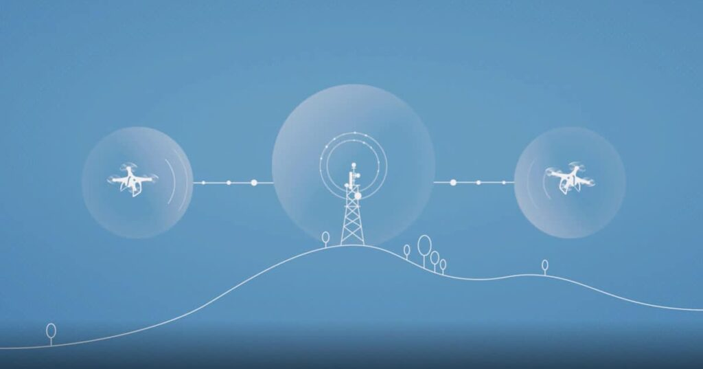 Droniq unmanned traffic management system