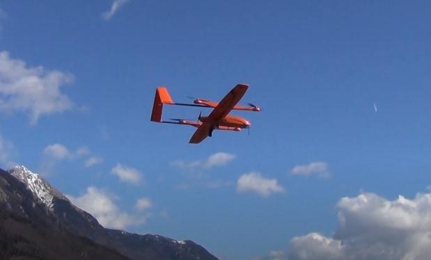ElevonX SkyEye Sierra VTOL