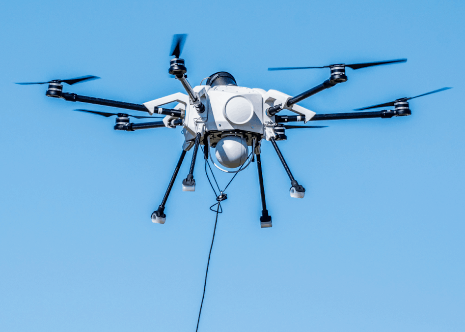 Anti-Terror Drill Monitoring With a Tethered UAV   Unmanned Systems Technology
