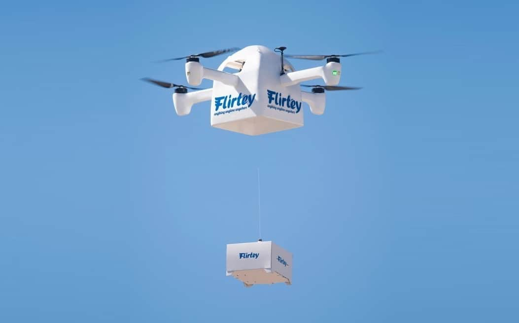 Patent Granted for New Drone Delivery Mechanism   Unmanned Systems Technology