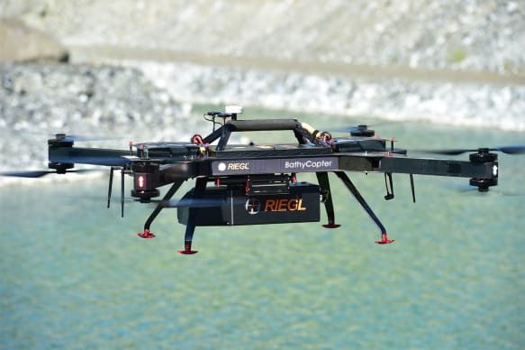Riegl BathyCopter - Bathymetric Survey LiDAR Drone