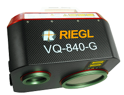 Riegl VQ-840-G for Topographic and Bathymetric LiDAR Scanning