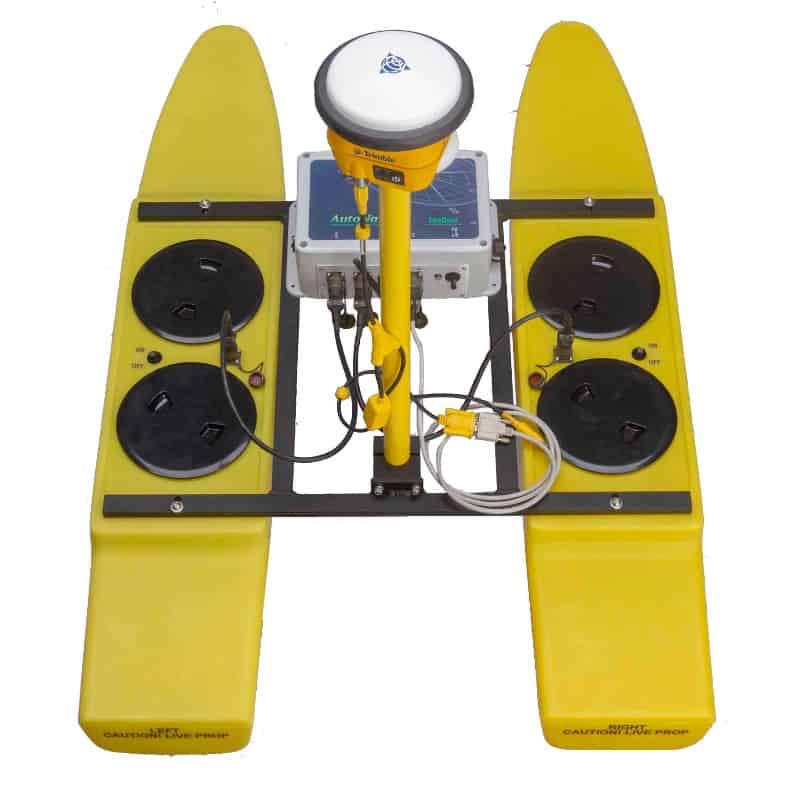 Seafloor Hydrone Unmanned Catamaran