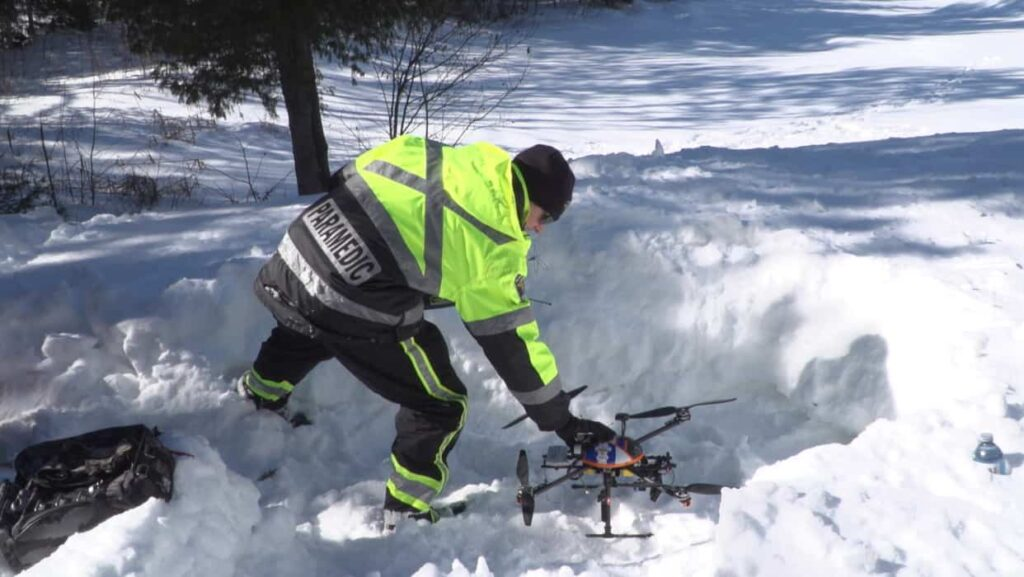 Search and rescue drone