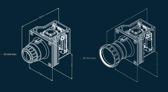 Sierra-Olympic Vayu HD LWIR thermal imaging camera lenses