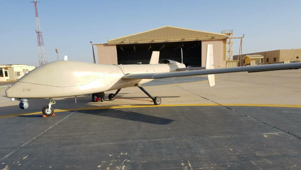 UAVOS Saker-1C Medium Altitude Long Endurance UAS
