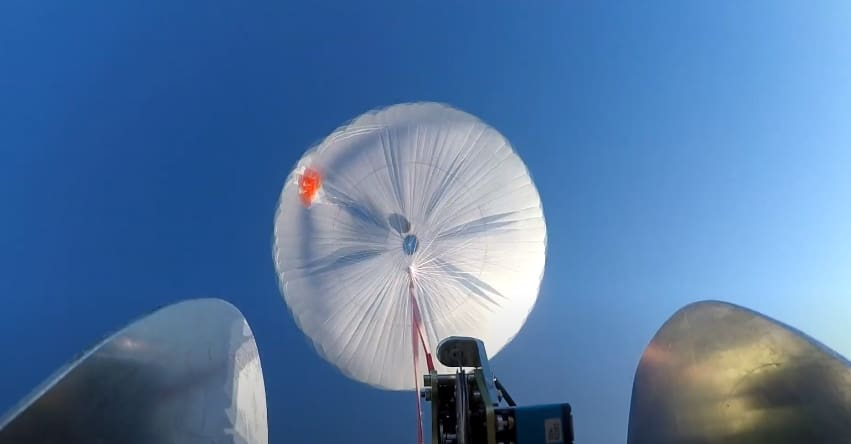 Parachute System Tested for High-Speed UAS   Unmanned Systems Technology