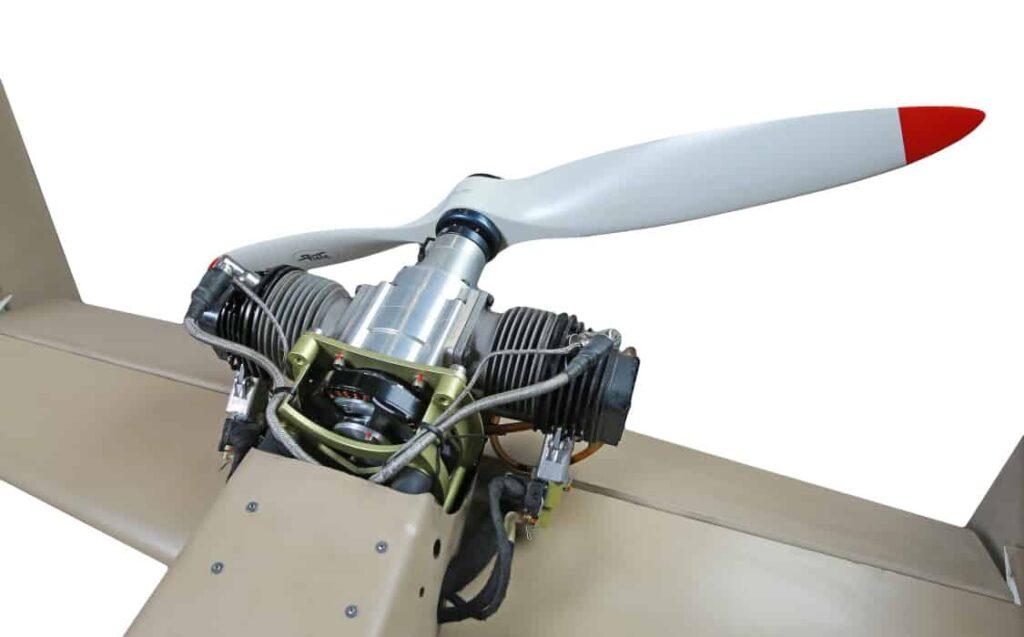 UAVOS upgraded four-stroke gasoline UAV engine