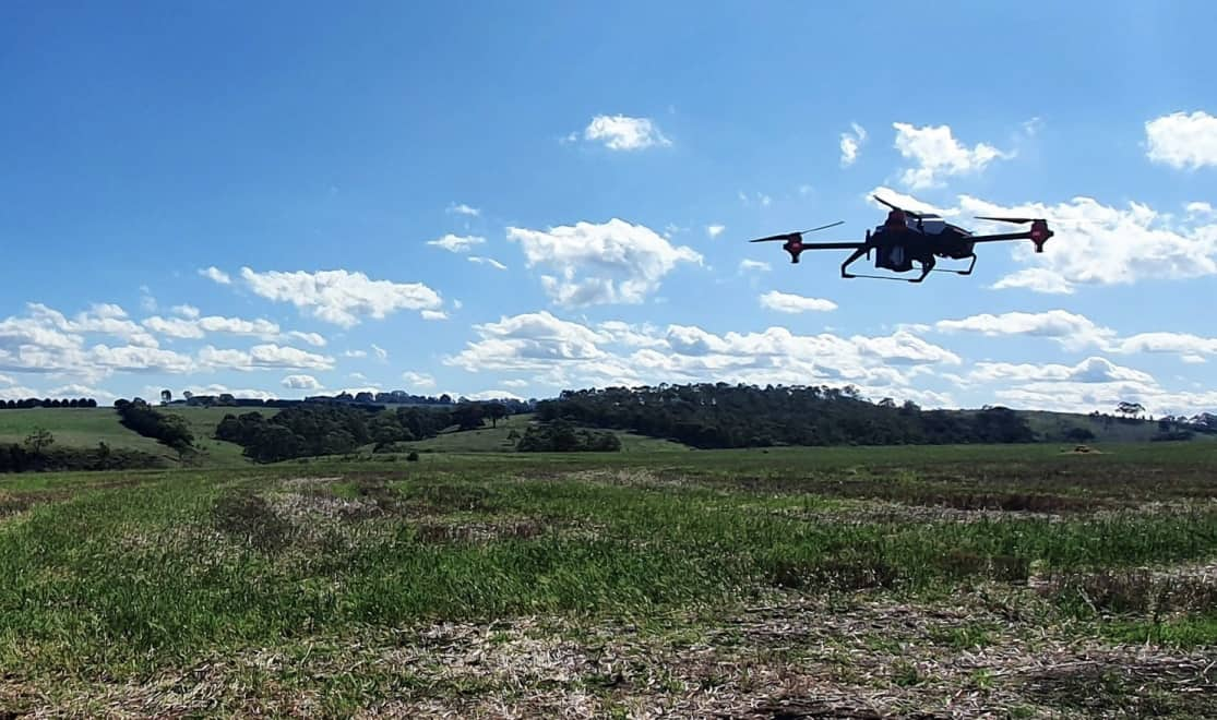 Post-Wildfire Reseeding Performed with Drones   Unmanned Systems Technology