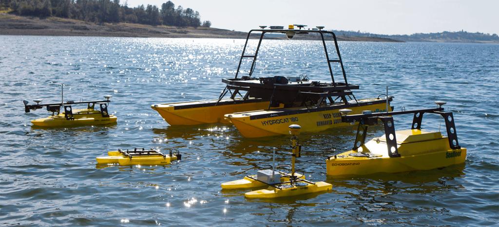 autonomous unmanned surface vehicles