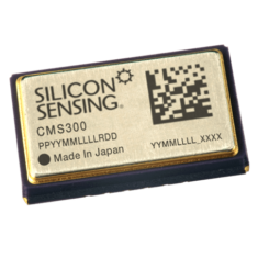 cms300 Combined single-axis gyro and dual-axis accelerometer