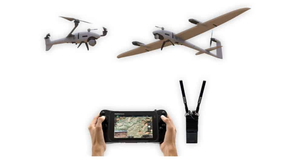Advanced MN-MIMO Radios Integrated into ISR Drones