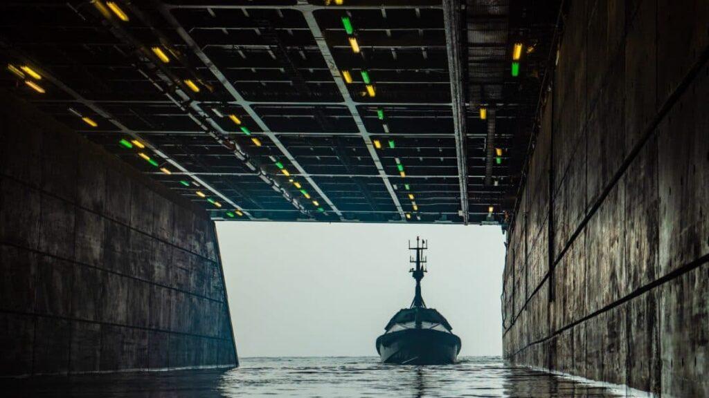 Autonomous Surface Vehicle Integrated into Royal Navy Warship