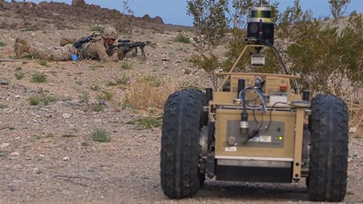 DARPA Squad X UGV
