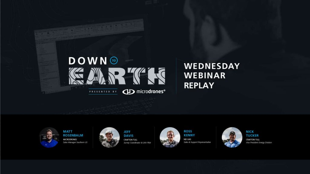 Down to Earth Webinar Replay