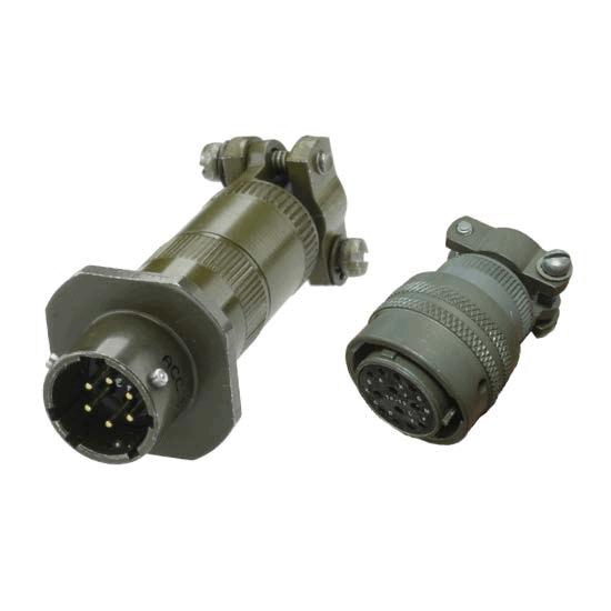 MIL-DTL-26482 QPL Connectors