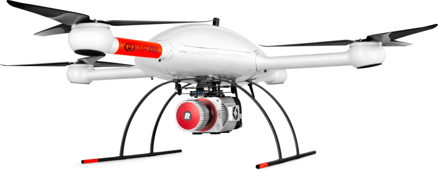 Microdrones long-range LiDAR survey UAS