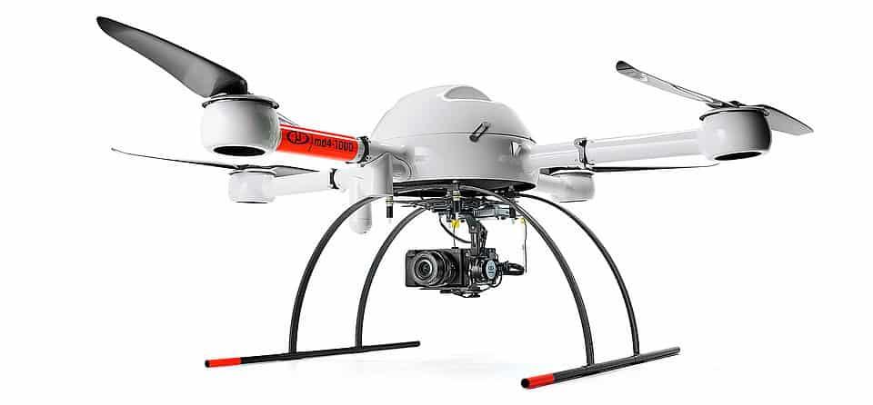 Microdrones mdMapper1000DG UAS