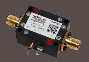 NuWaves Low Noise RF Amplifier uHILNA