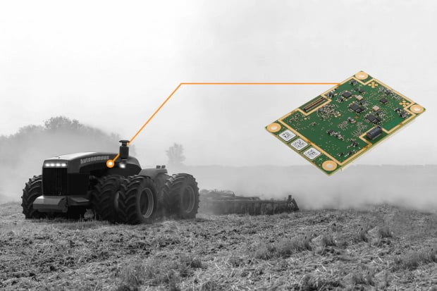 Septentrio AsteRx-m2 Sx GNSS receiver with integrated corrections