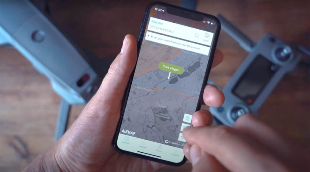 AirHub drone management app