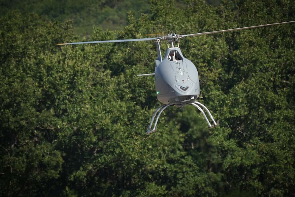 Airbus VSR700 prototype unmanned helicopter