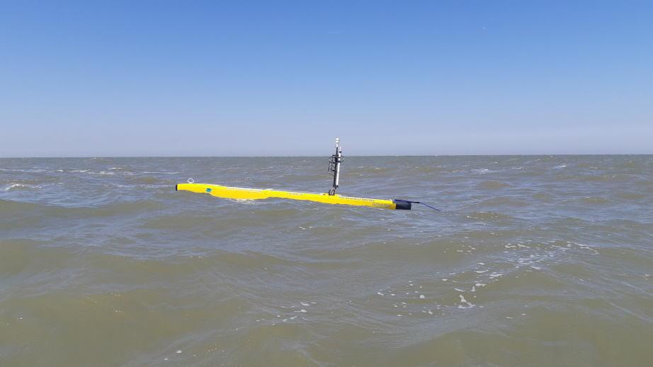 AutoNaut USV in North Sea
