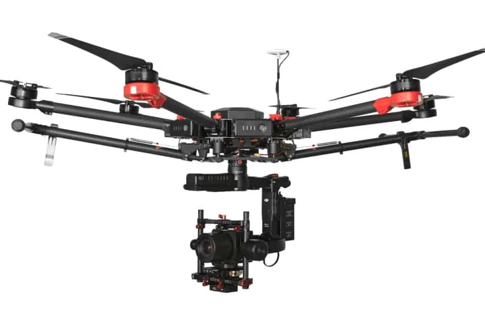 DJI M600 Pro drone with Phase One camera