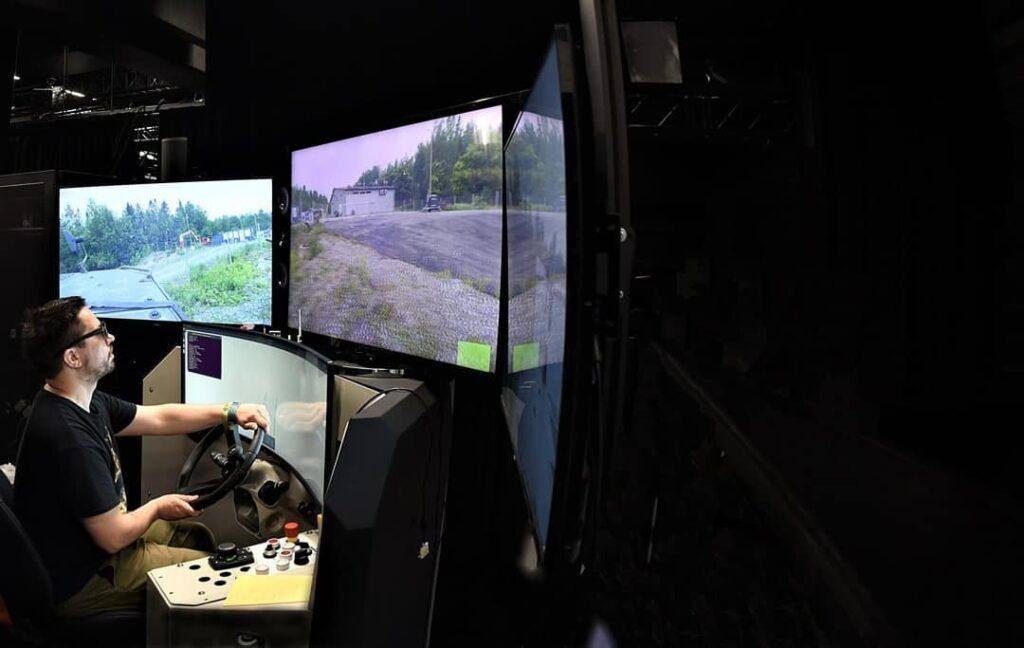 Patria UGV BVLOS control station