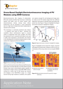 Raptor Photonics PV Solar Cell Inspection App Note