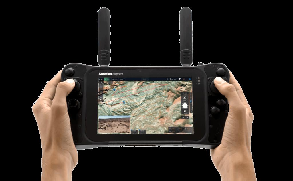 Skynav Gov – Handheld UAV Ground Controller