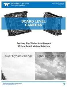 Teledyne Lumenera board-level cameras whitepaper