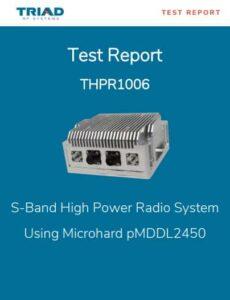 Triad High Power Radio test report