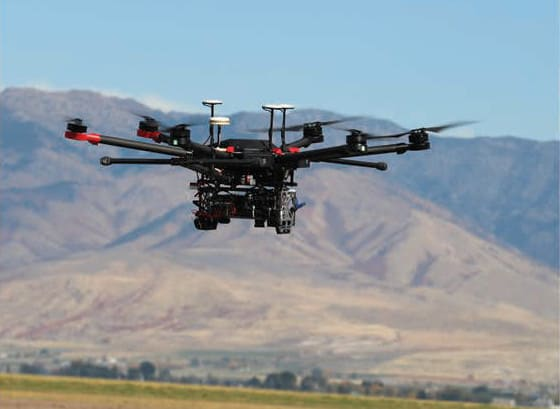 UAV cameras for Mapping and Surveying