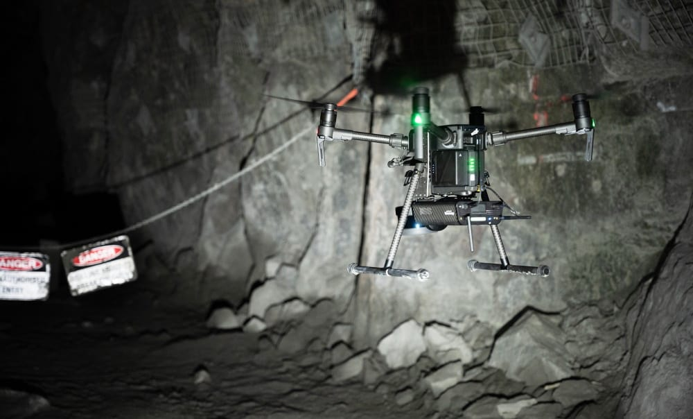 Velodyne LiDAR in drone mapping payload
