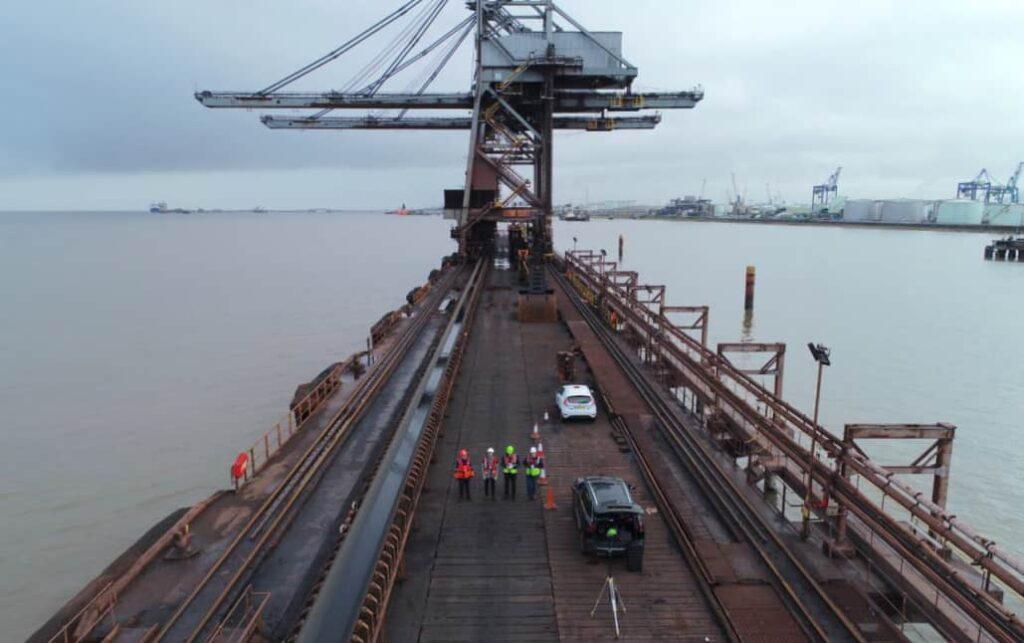 Associated British Ports drone asset management