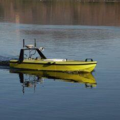 SPECTRE Autopilot Integrated into Hydrographic Survey USV