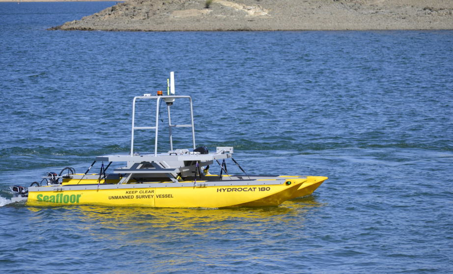 Seafloor Systems HydroCat-180 USV