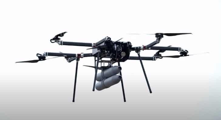 Skyfront Perimeter 8 drone with IMSAR radar payload