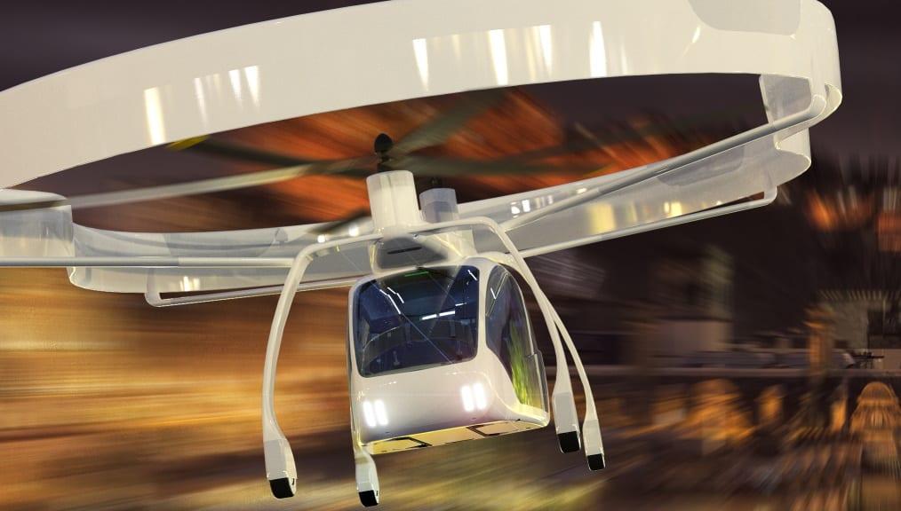 UAVOS SumoAir autonomous taxi concept