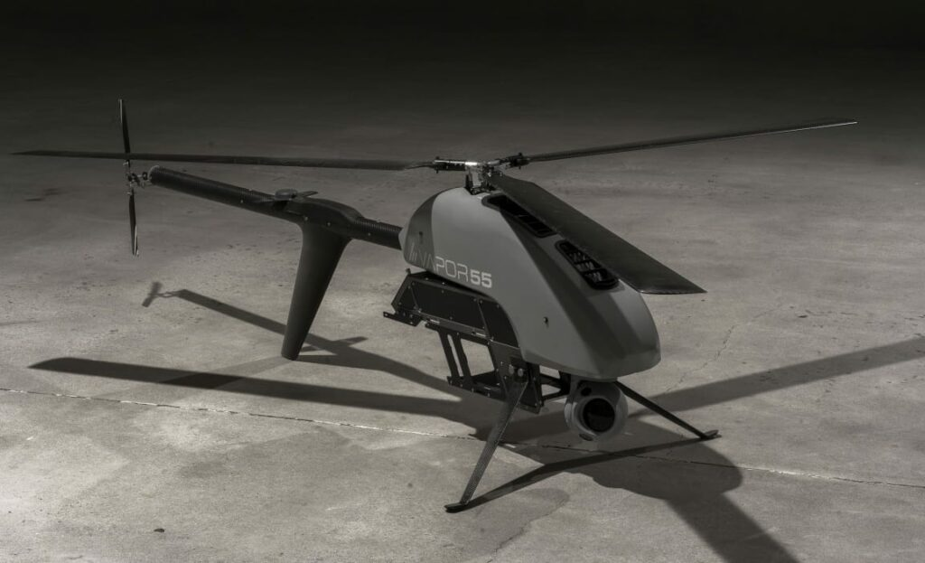 AeroVironment Vapor unmanned helicopter