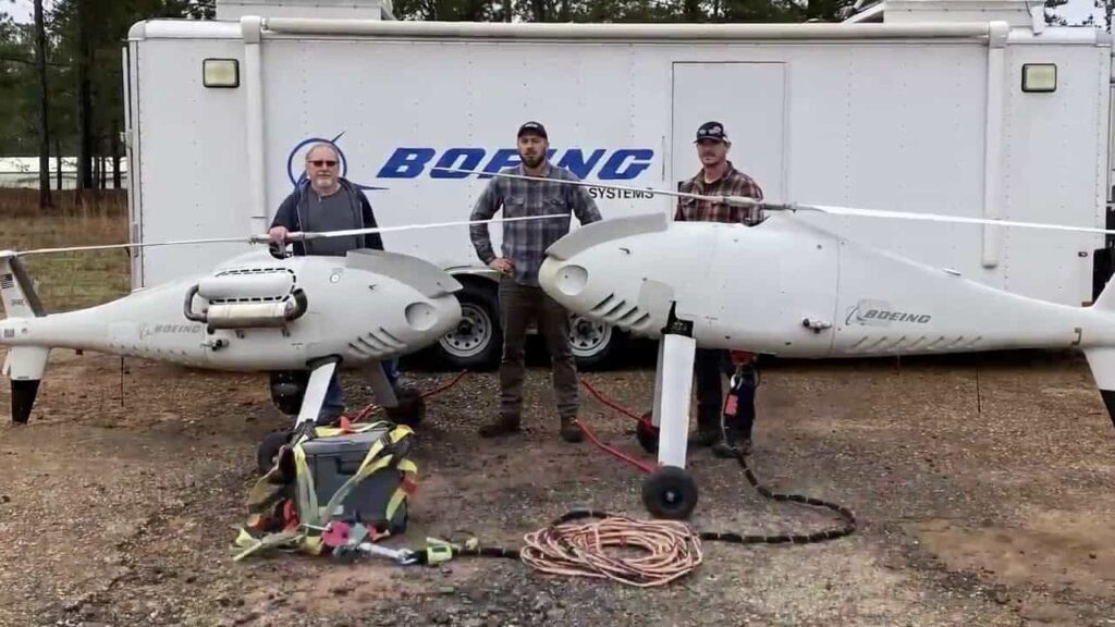 Boeing testing CAMCOPTER S-100 UAS
