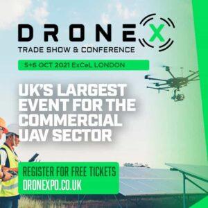 DroneX Tradeshow 2021 London