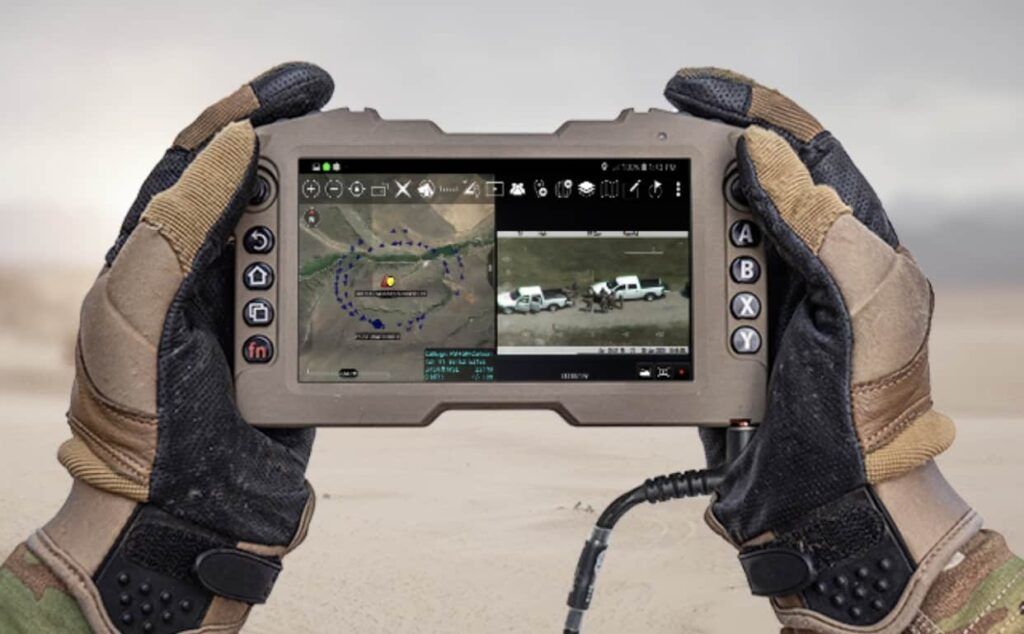 Persistent Systems Rugged Display and Controller for MANET radio