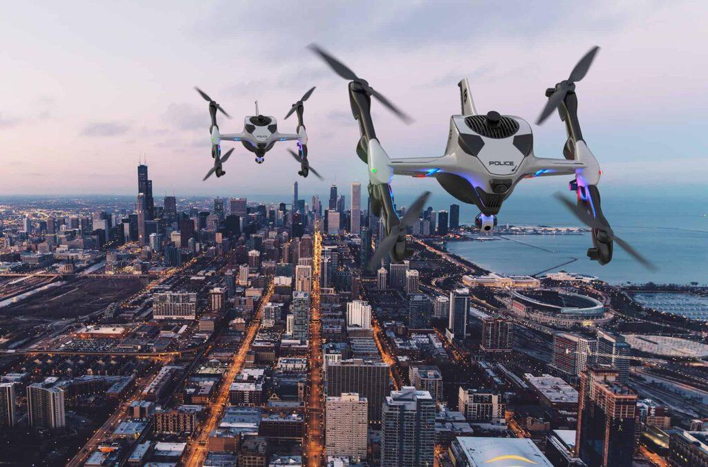 Sonin Hybrid first responder drone