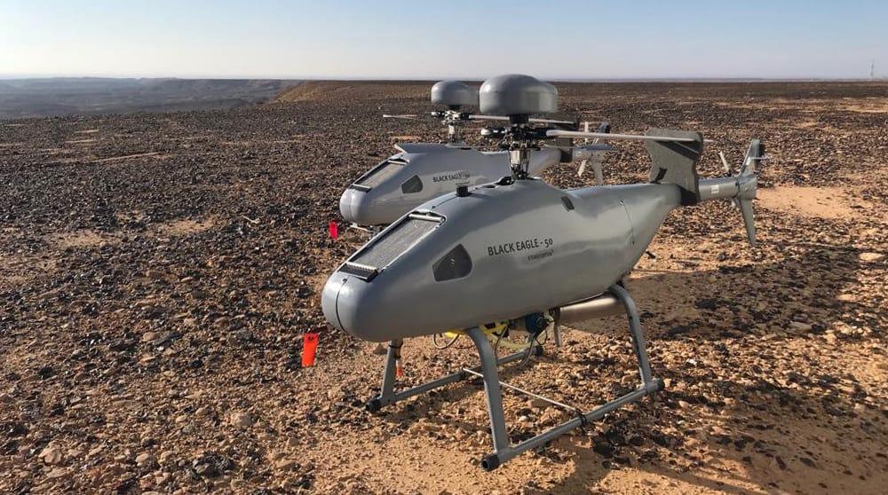 Unmanned VTOL helicopter