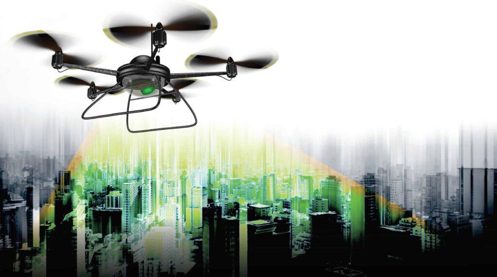 microLiDAR for drones